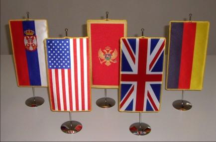 1. Državne namizne zastavice