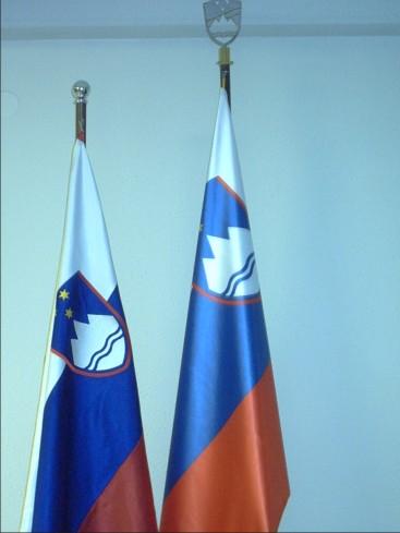 4. Praporski zastavi RS