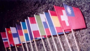 Zastavice na palčki