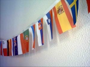 Zastavice na vrvici