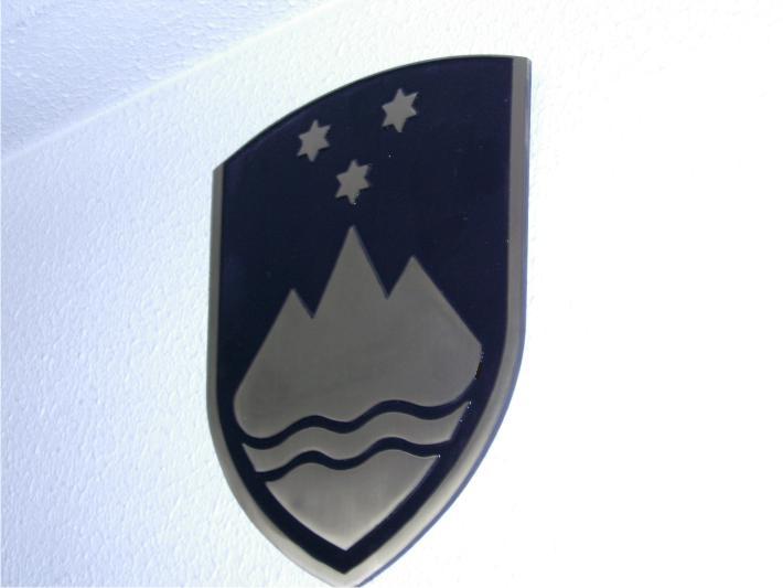 3. Grb RS – kovinski